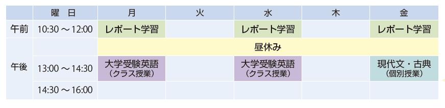 girl_3rd_timetable